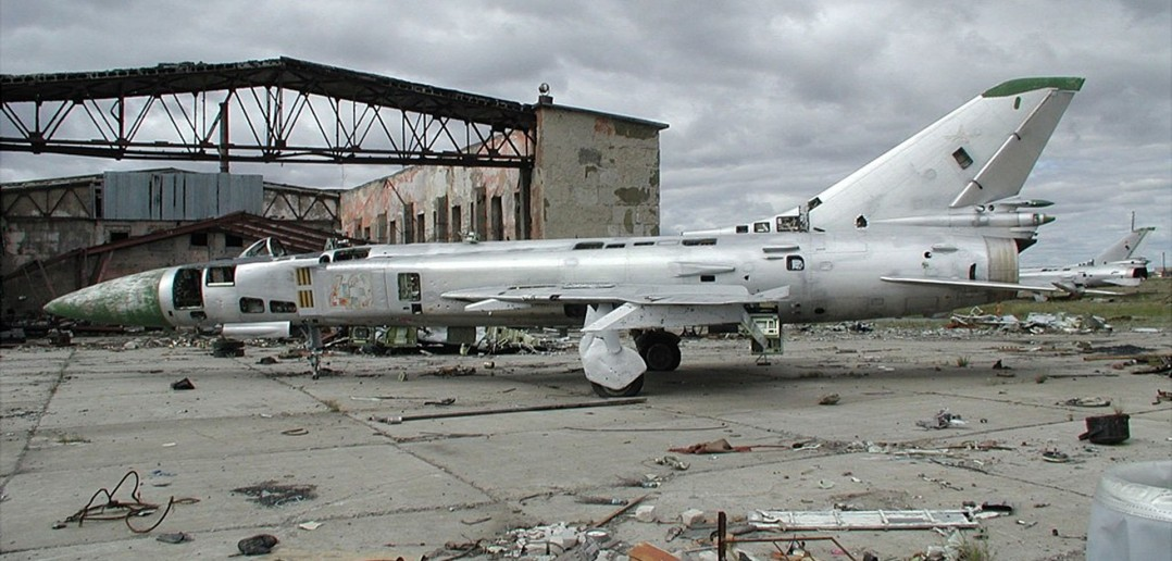 Wrak Suchoja Su-15TM (fot. Dmirty Avdeev)