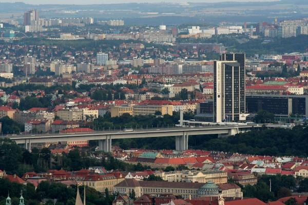 Most Nuselski współcześnie (fot. Petr Novák)