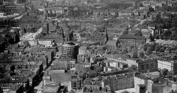 Panorama Poznania z przełomu lat 50-tych i 60-tych (fot. Grzegorz Isalski/Blizny Poznania)