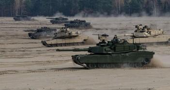 Leopardy i Abramsy na wspólnych ćwiczeniach - zdjęcia