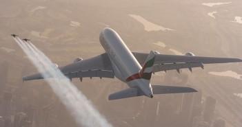 Jetman Dubai i Airbus A380