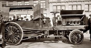 Nowojorskie uliczne zamiatarki z 1913 roku