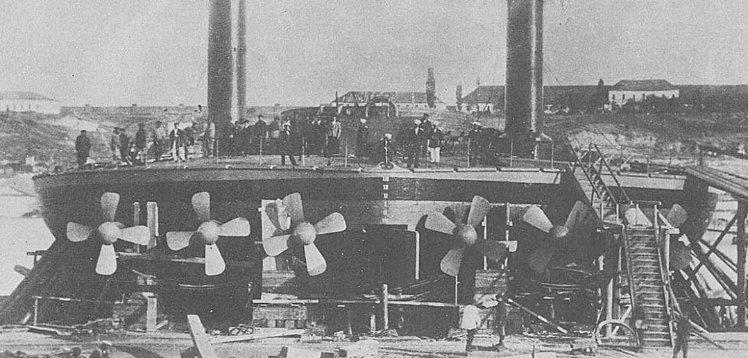 Popowki - rosyjskie okrągłe okręty wojenne
