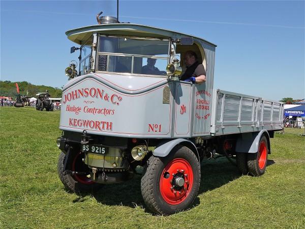 Jedna z ciężarówek Sentinel