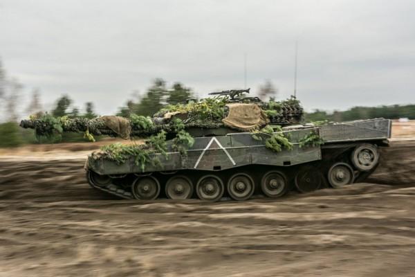 Polski Leopard 2A4 (fot. chor. Rafał Mniedło)