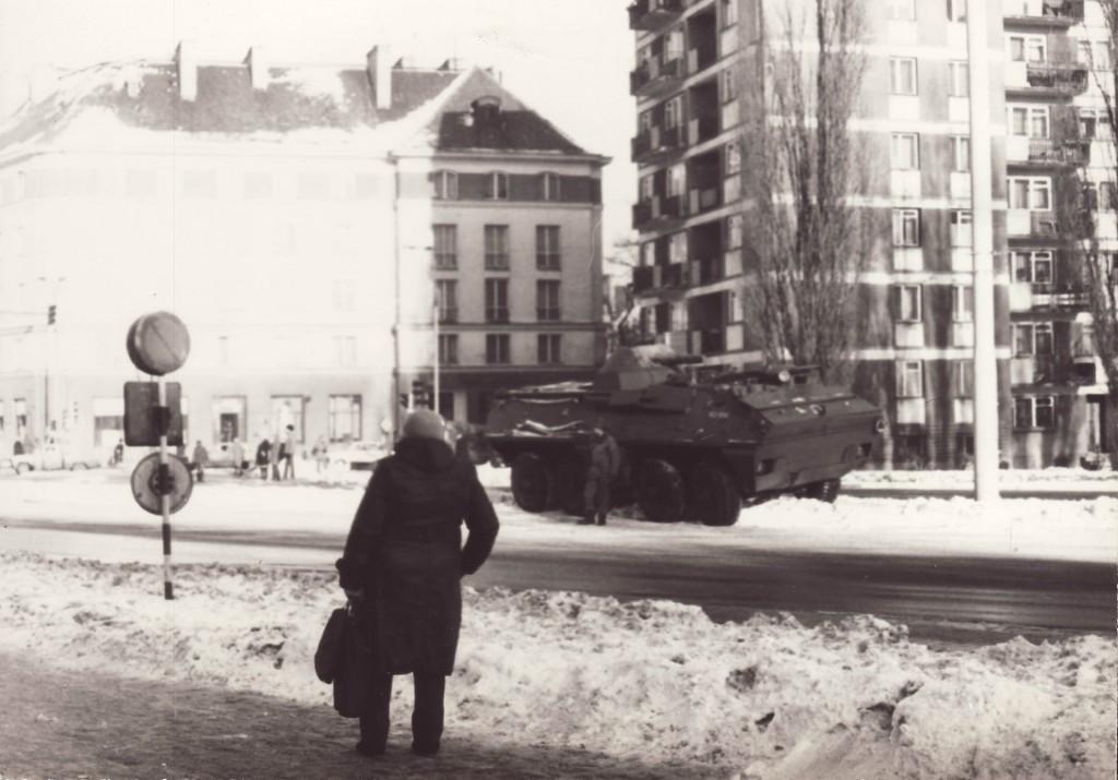 Wojsko na ulicach polskich miast