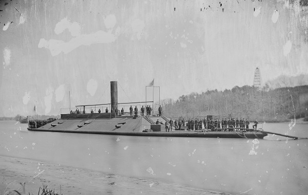 CSS Atlanta - konfederacki okręt pancerny z 1861 roku