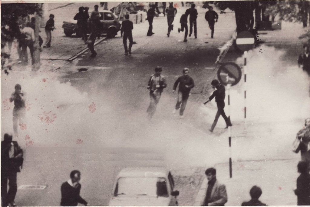 Demonstracje w trakcie stanu wojennego były brutalnie tłumione