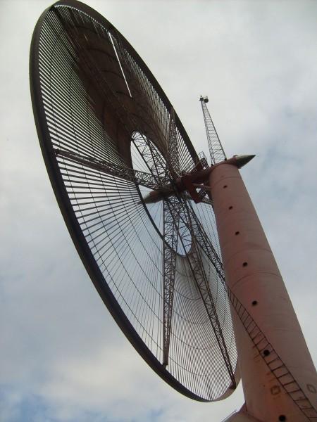 Turbina wiatrowa w Rębielicach Królewskich (Maniex87/Wikimedia Commons)