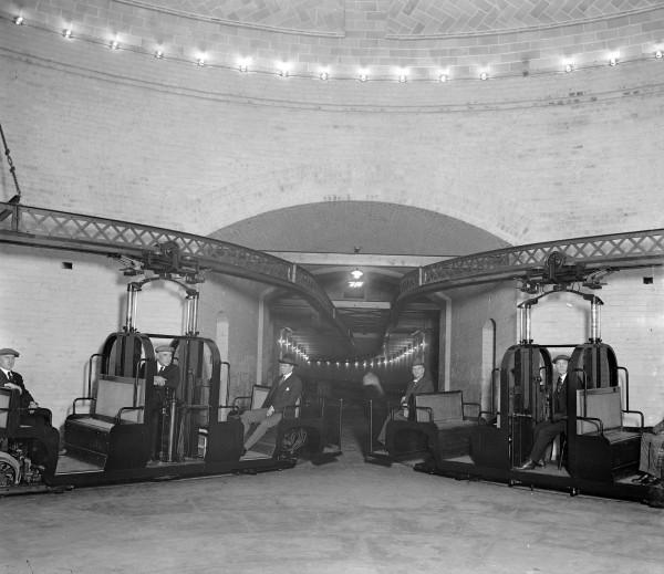Capitol subway system w latach 30-tych (fot Harris Ewing)