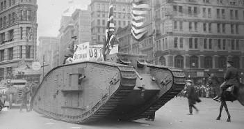 British tank Britannia - czołgi które zwiedziły USA
