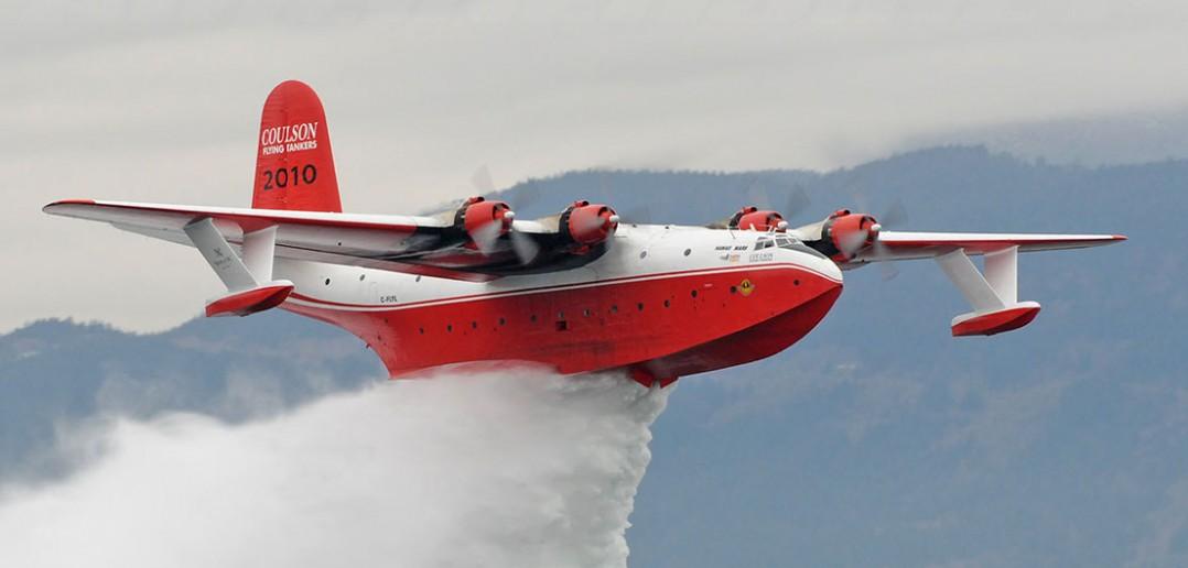 Martin JRM Mars - długowieczni latający strażacy