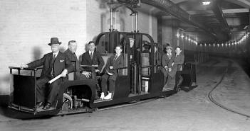 Capitol subway system - rządowe metro w Waszyngtonie