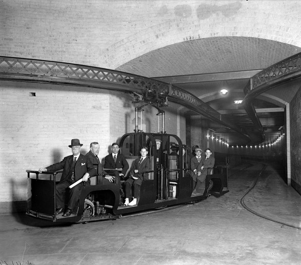 Capitol subway system w latach 30-tych