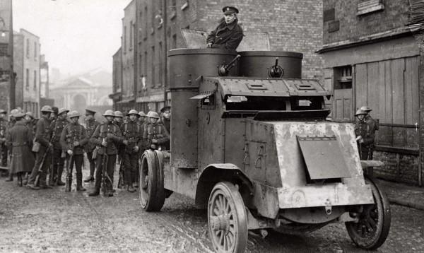 Brytyjskie oddziały w Irlandii