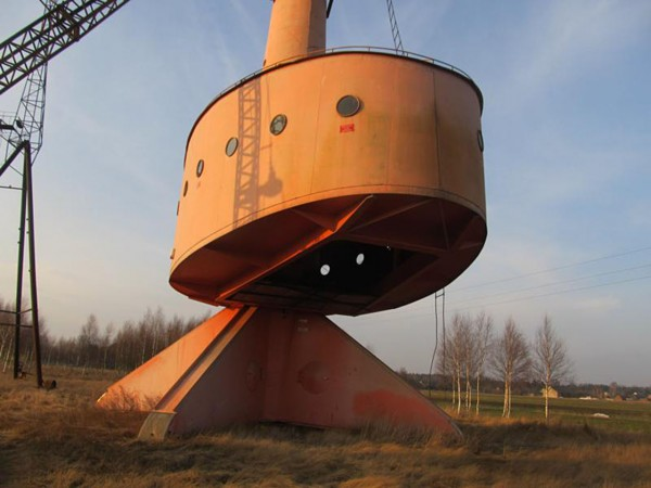 Turbina wiatrowa w Rębielicach Królewskich (fot. mapakultury.pl)