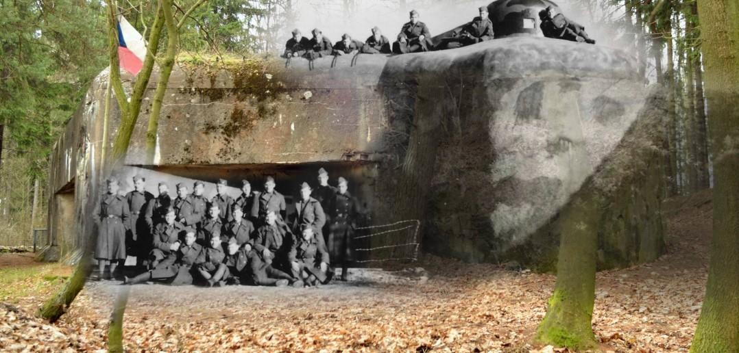 Fort T-S 2 Studénka (Studnia) jeszcze w rękach czechosłowackich (fot. Roman Kubeček)
