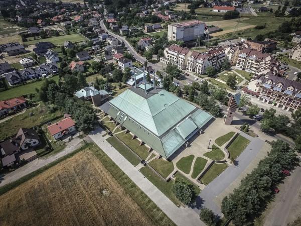 Kościół Ducha Świętego w Tychach (fot. Igor Snopek/Architektura VII Dnia)