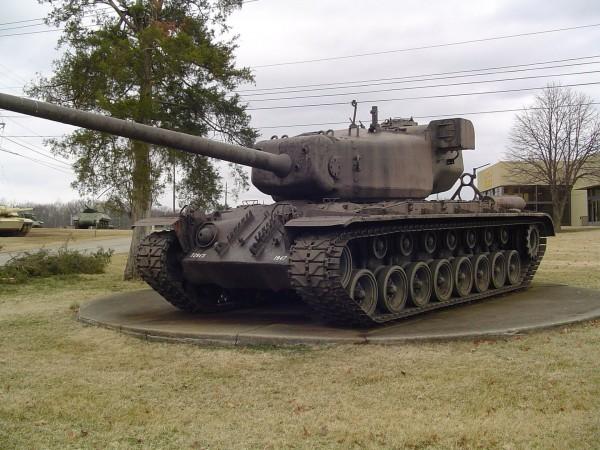 Heavy Tank T29E3 (wersja zmodernizowana wyposażona w dalmierz)