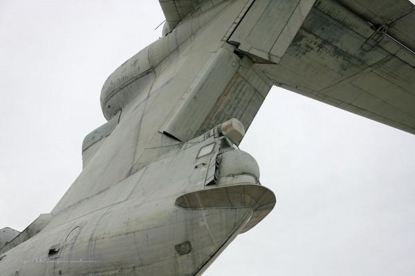 MD-160 - ekranoplan typu Łuń (fot. alex-leshy.livejournal.com)