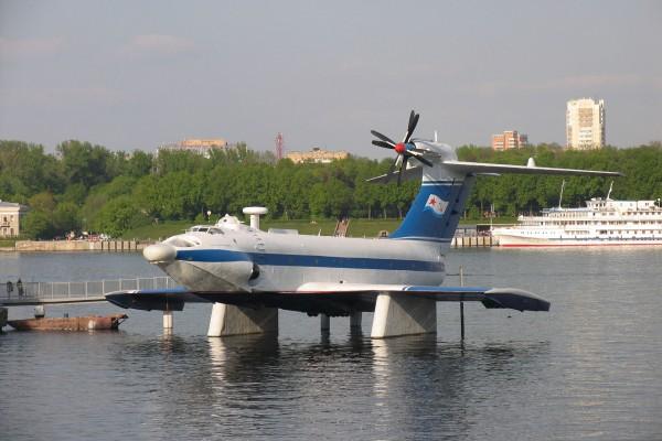 Ekranoplan A-90 Orlik (fot. Mike1979 Russia/Wikimedia Commons)