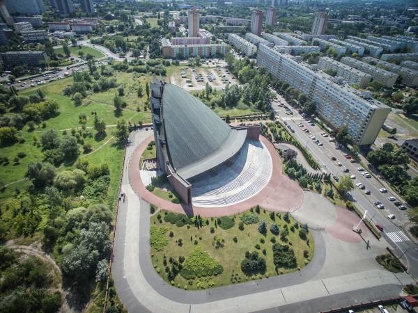 Kościół Nawiedzenia Najświętszej Maryi Panny w Poznaniu (fot. Igor Snopek/Architektura VII Dnia)