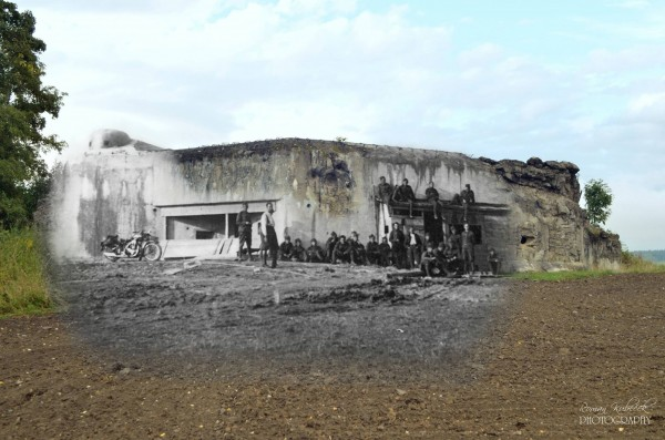Fort K-S 15 U lípy krótko przed przejęciem fortyfikacji przez Niemców (fot. Roman Kubeček)