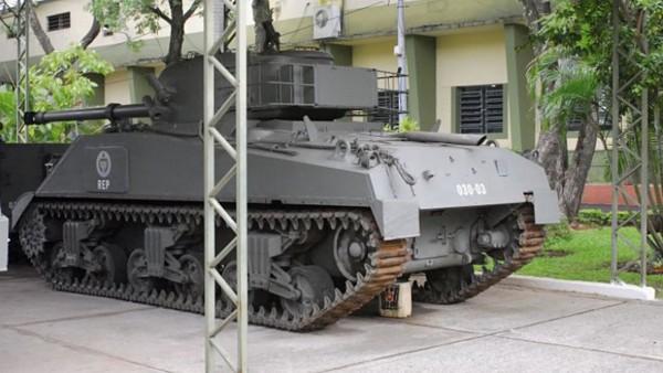 Paragwajski Sherman Repotenciado
