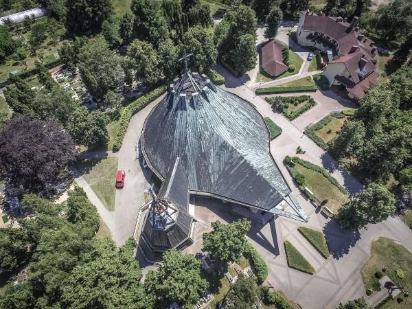 Kościół Miłosierdzia Bożego w Brzegu (fot. Igor Snopek/Architektura VII Dnia)