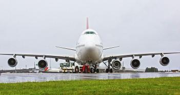 Boeing 747 linii Qantas, lot QF63 z dodatkowym silnikiem
