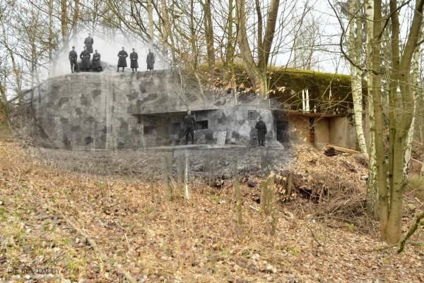 Fort T-S7 Lom (Kamieniołom) jeszcze w rękach czechosłowackich (fot. Roman Kubeček)