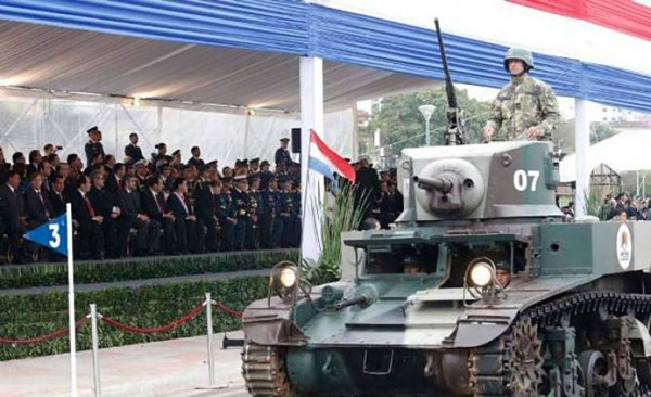 Paragwajski M3A1 Stuart