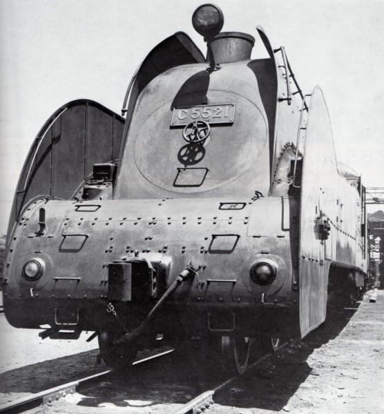 Lokomotywa C55 po przebudowie