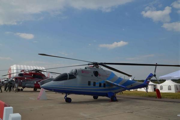 Mi-24 LL-PSW na salonie lotniczym MAKS 2015 (fot. Władimir Karnozew)