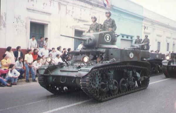 Paragwajskie M3A1 Stuart