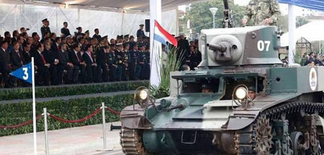 Paragwaj przywraca do służby Shermany i Stuarty