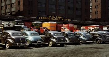 U.S. Army consolidating station - 1943 - zdjęcie