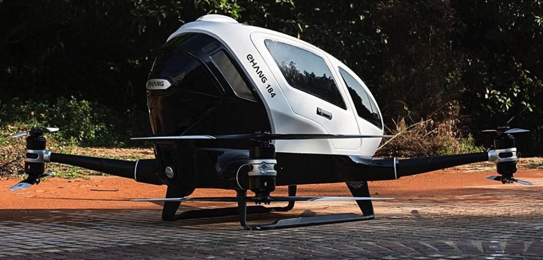 EHang 184 - dron pasażerski