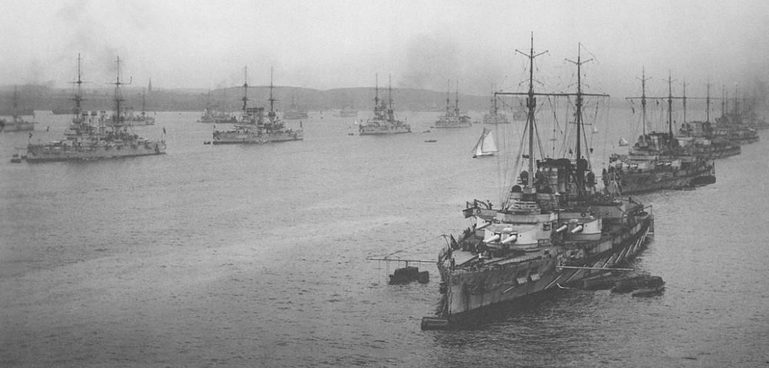 Hochseeflotte w 1914 roku - zdjęcie