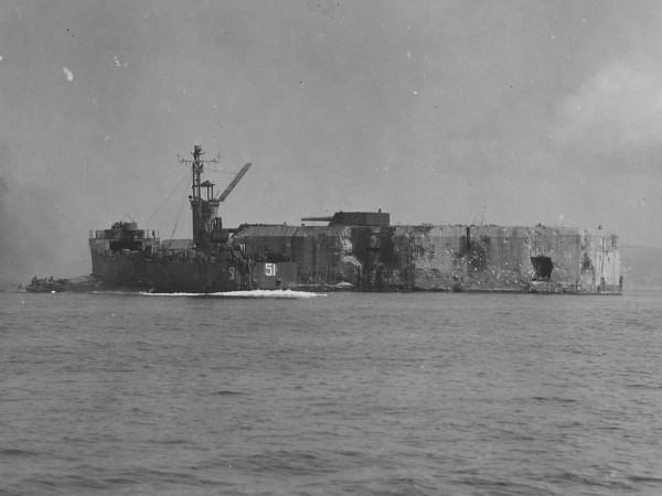 Fort Drum w 1945 roku