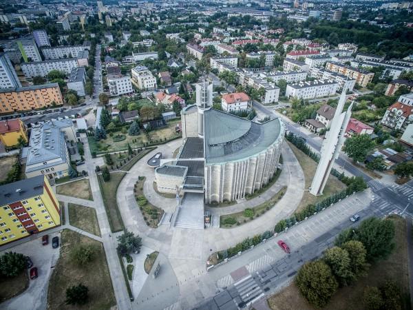 Kościół Świętego Józefa Robotnika w Kielcach (fot. Igor Snopek/Architektura VII Dnia)