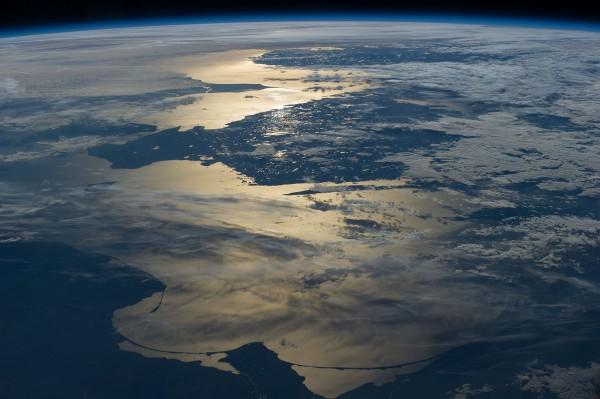 Bałtyk - wybrzeże Polski i Szwecji - 15 czerwca 2014 - zdjęcie wykonane aparatem Nikon D3S z pokładu stacji ISS