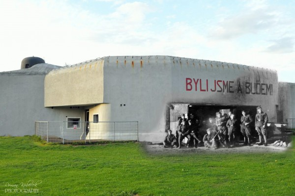 Fort K-S 14 U cihelny - obecnie w bunkrze znajduje się muzeum (fot. Roman Kubeček)
