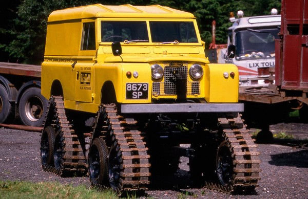Cuthbertson Land Rover Series II