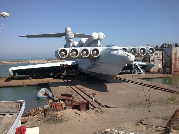 MD-160 - ekranoplan typu Łuń (fot. nieznany)