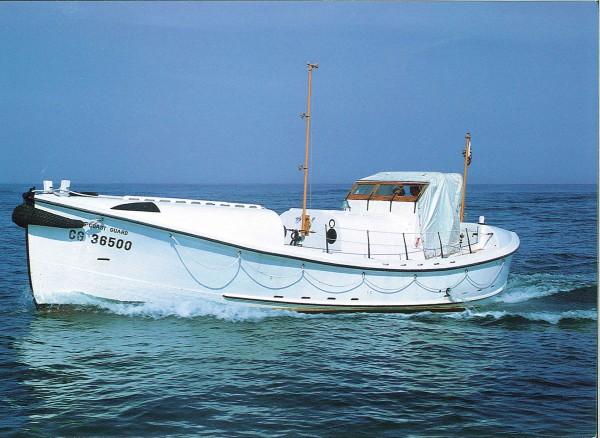 Motorówka straży przybrzeżnej CG-36500
