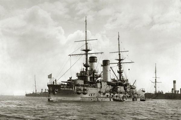 Jeden z 5 pancerników typu Borodino