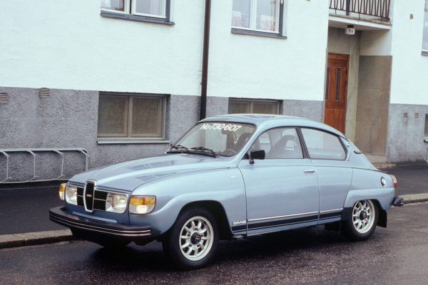 Saab 96 model 1978 (fot. nieznany)