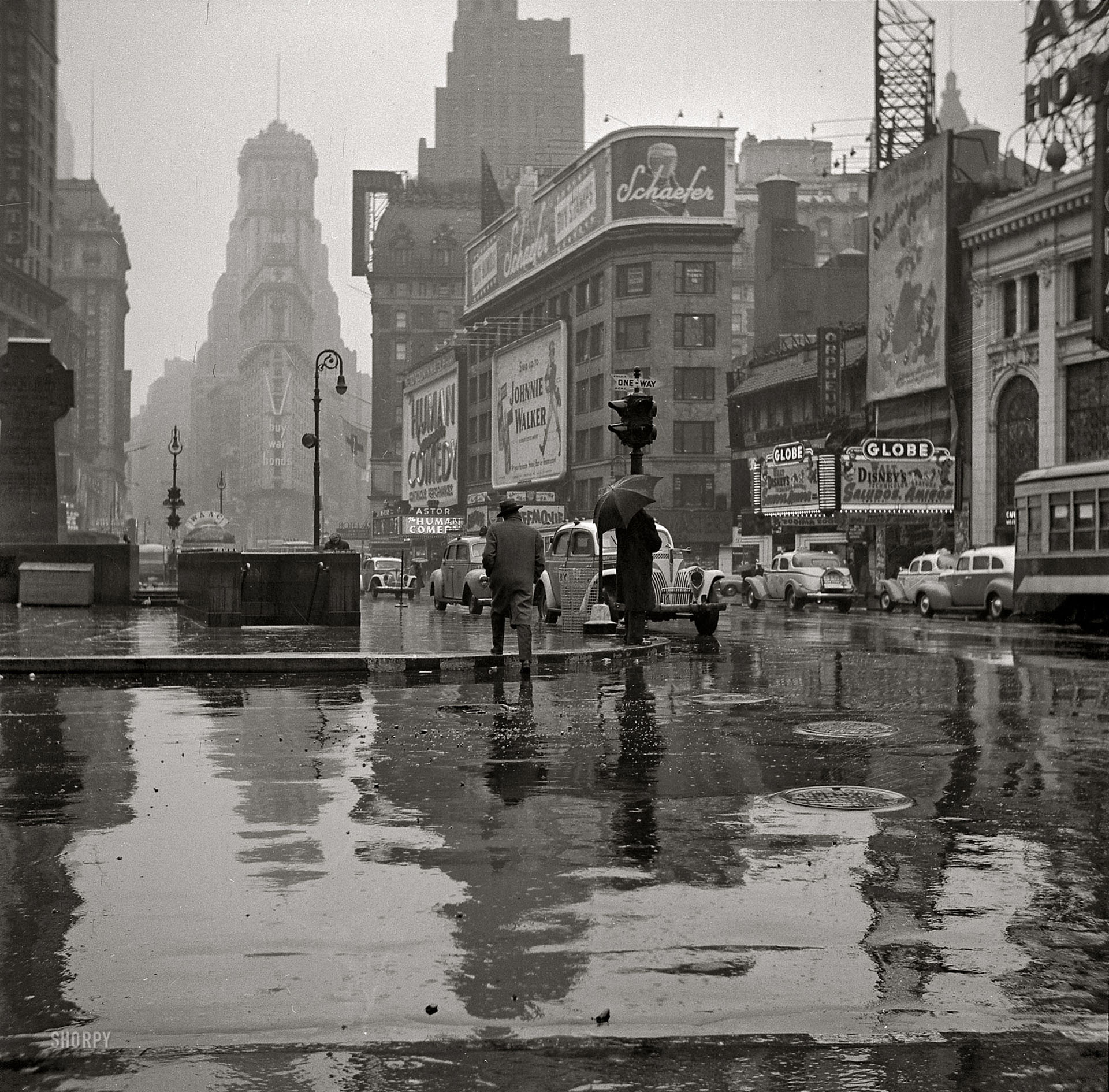 Before-Times Square w 1943 roku