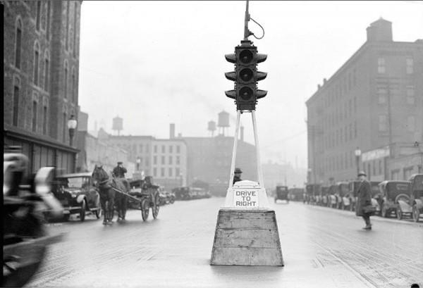 Sygnalizacja świetlna w USA w latach 20.
